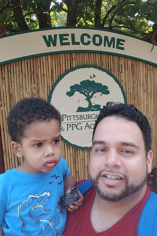 Eric Martinez - Pittsburgh Zoo with Family