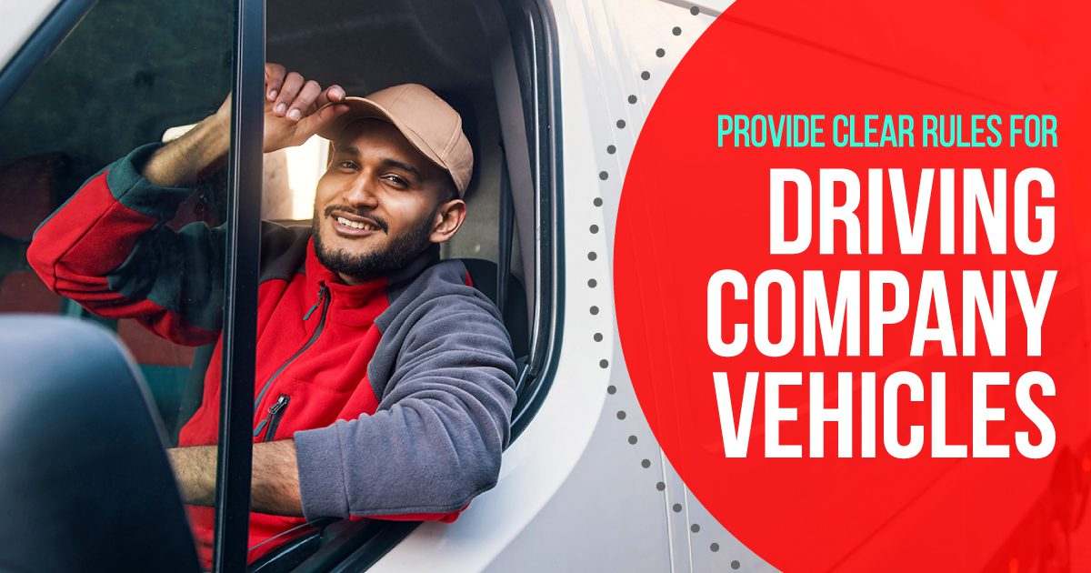 Social Business - Provide Clear Rules for Driving Company Vehicles