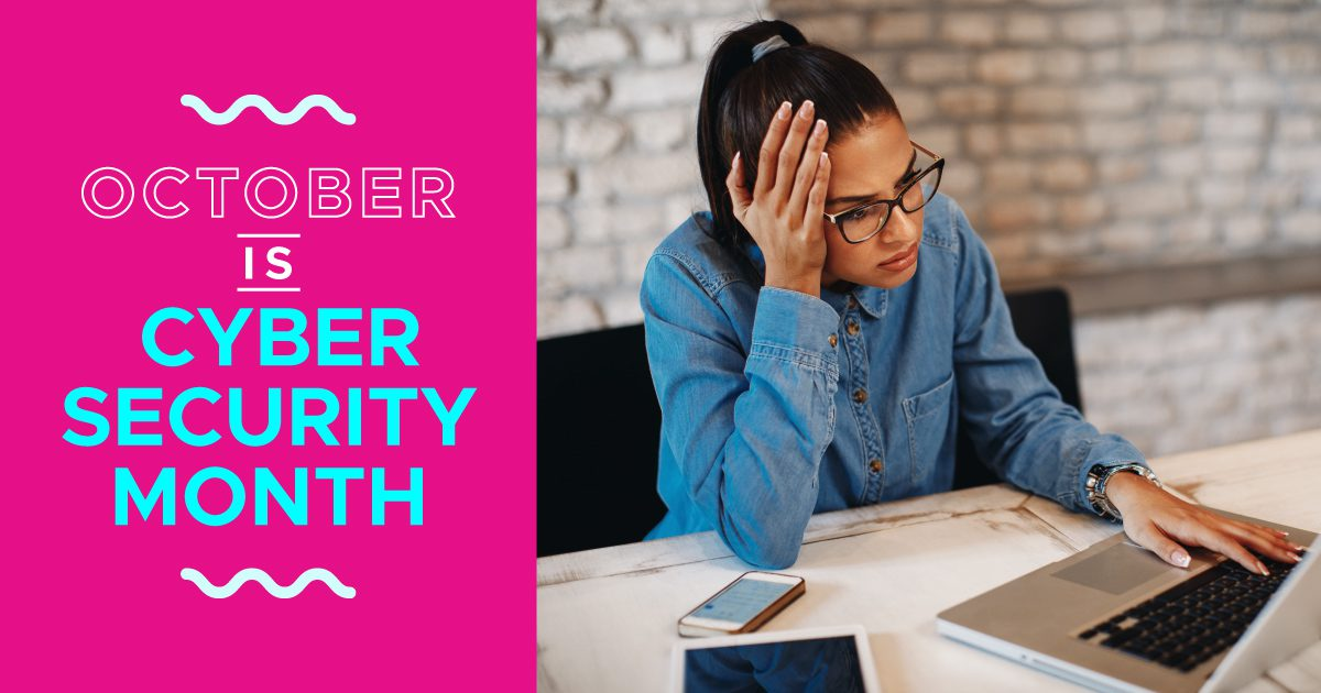 Social Business - October Is Cyber Security Month