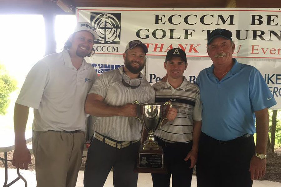 About Our Agency - First Security Insurance at ECCCM Golf Tournament