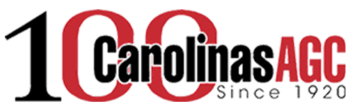 About and Contractors - 100 Carolinas AGC Since 1920 Logo